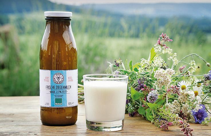 Frische Ziegenmilch - Hof Roesebach