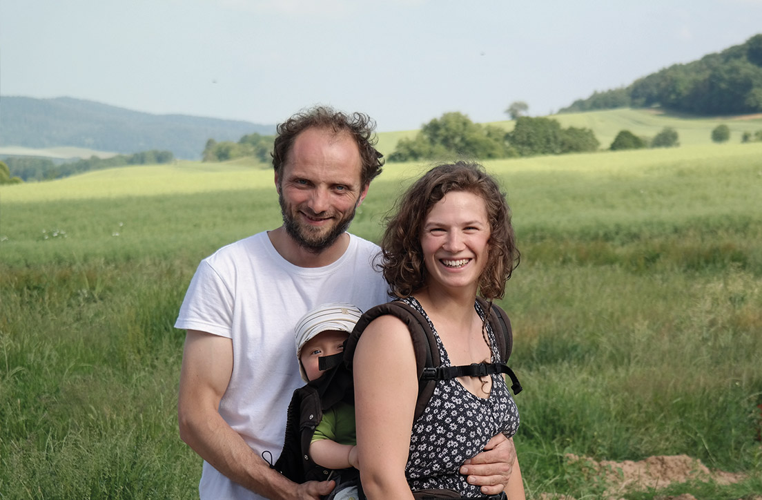 Mira und Frank - Hof Rösebach