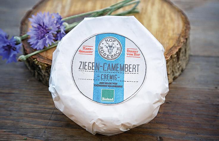 Ziegen Camembert Cremig - Hof Roesebach