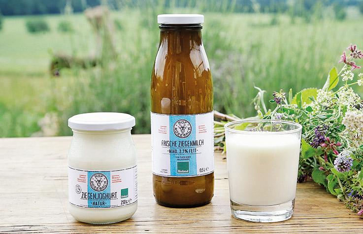 Ziegenmilch und -Joghurt - Hof Roesebach